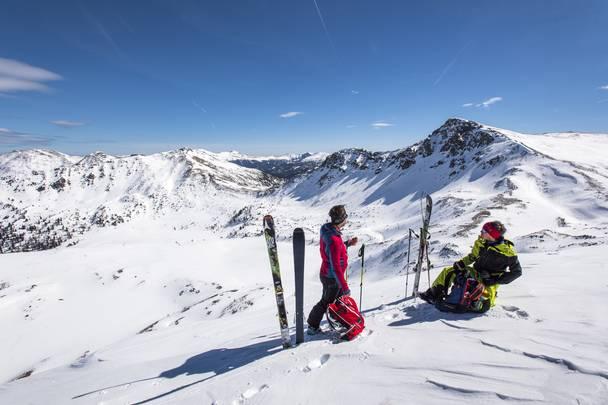 <p>Skitouren, Skibergsteigen, Nockberge-Trail</p>