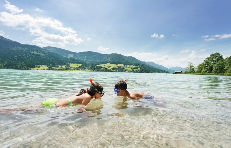 Weissensee Badevergnügen