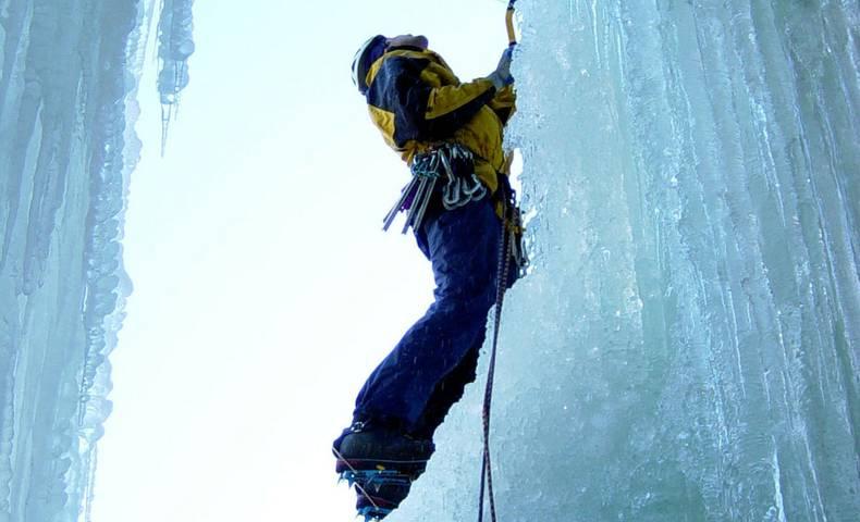 Eisklettern in Kärnten