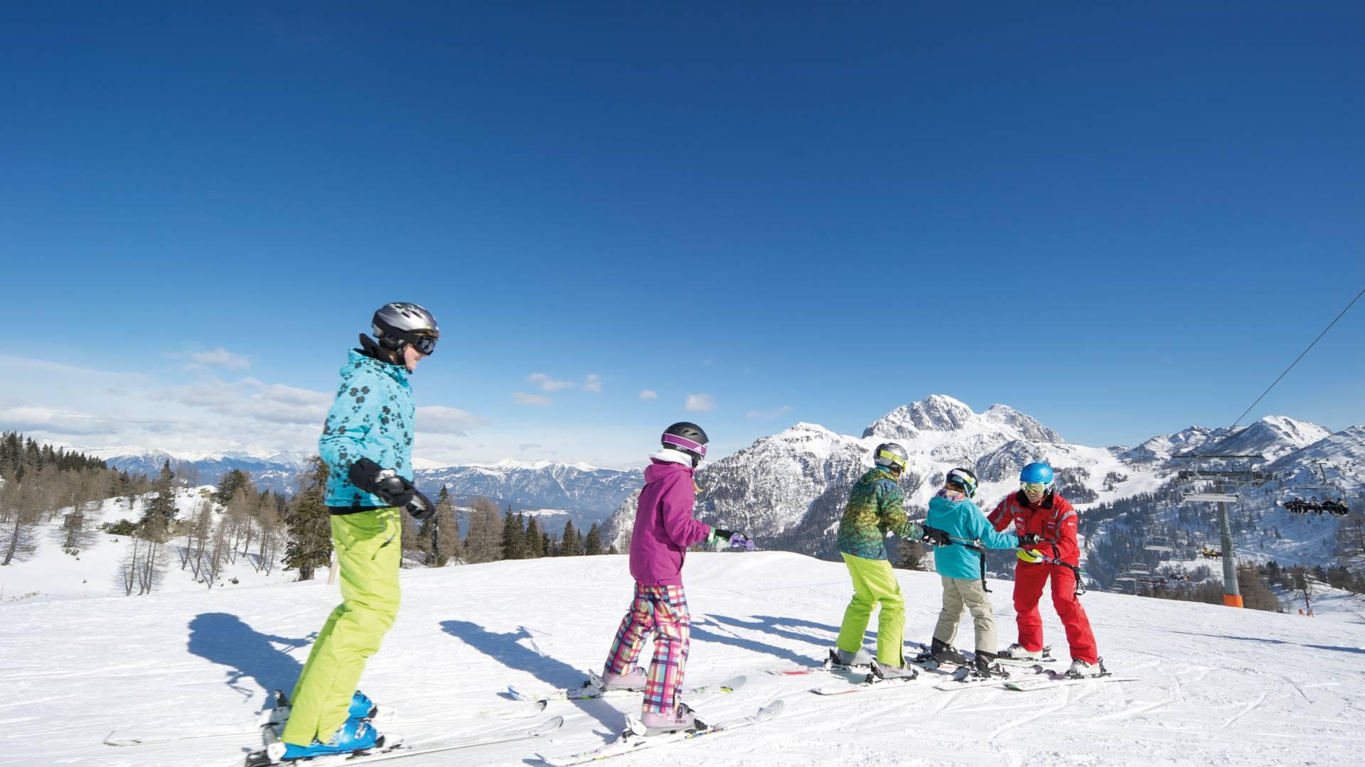 Skikurs am Nassfeld
