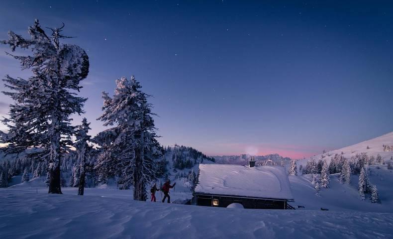 Schneeschuhwandern am Dobratsch
