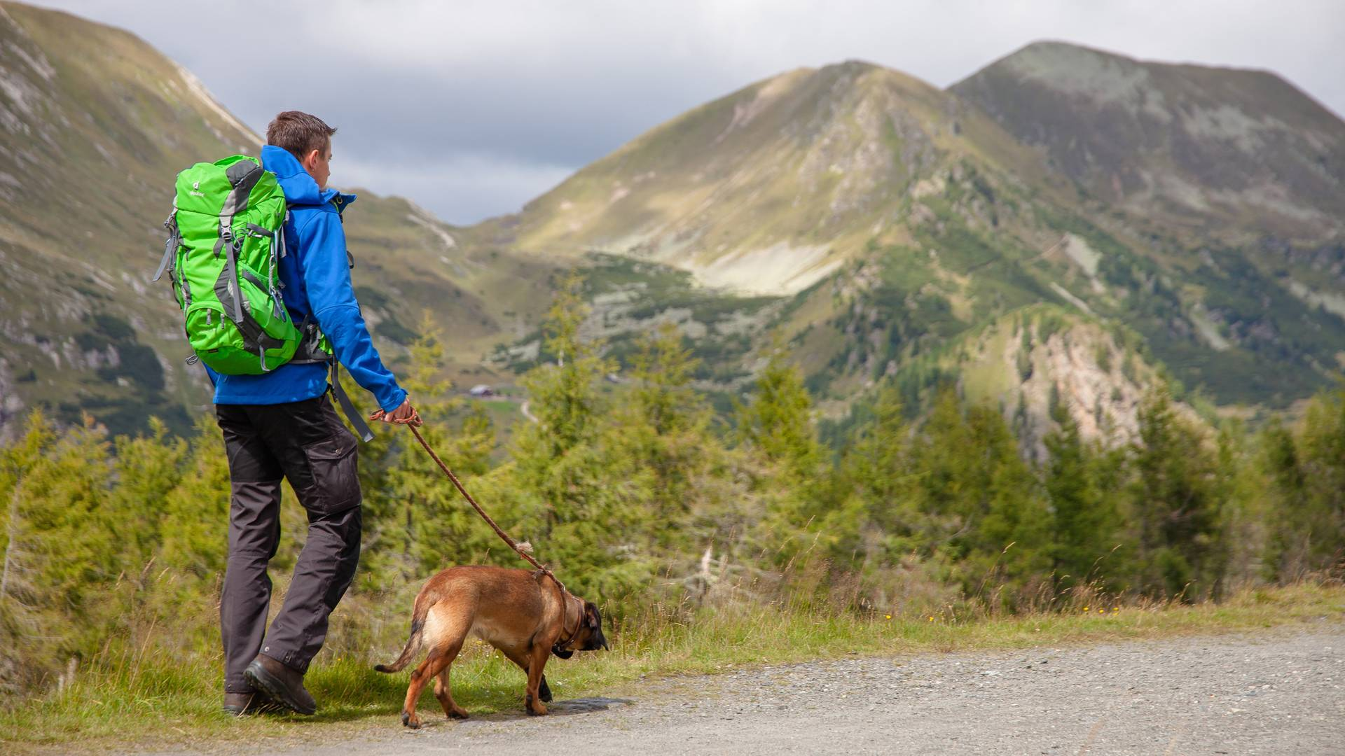 Weitwandern mit Hund in der Region Bad Kleinkirchheim