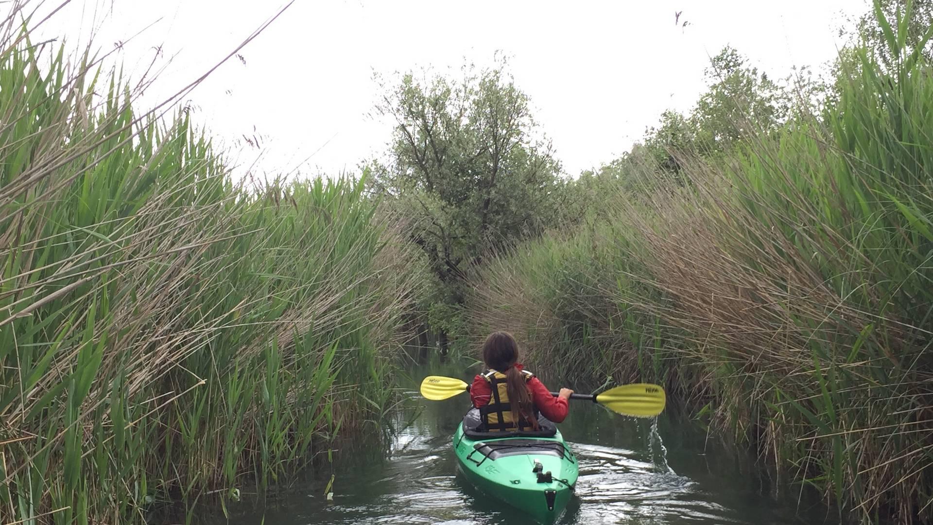 Campingurlaub Ute Zaworka, mit dem Kajak am Faaker See unterwegs