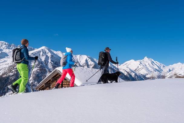 Heiligenblut, Nationalpark Hohe Tauern, Schneeschuhwandern