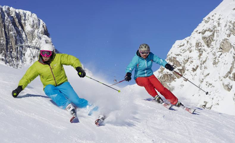Nassfeld Skifahren