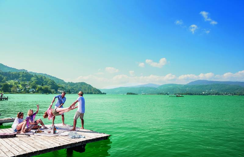 Picknick am See - Geschmack der Kindheit