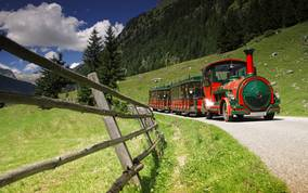 Tschu-Tschu Bahn im Pöllatal