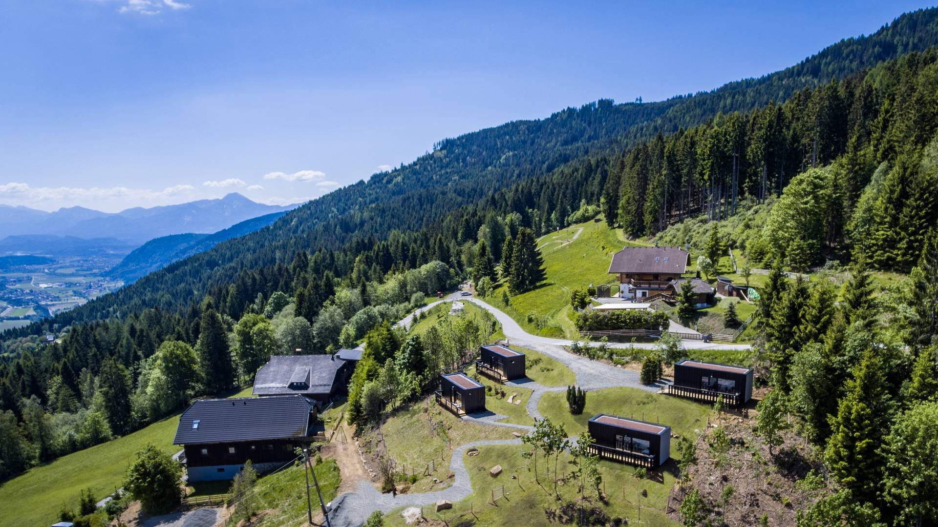 Ungewoehnliche Unterkuenfte in Kärnten, Art Lodge am Verditz
