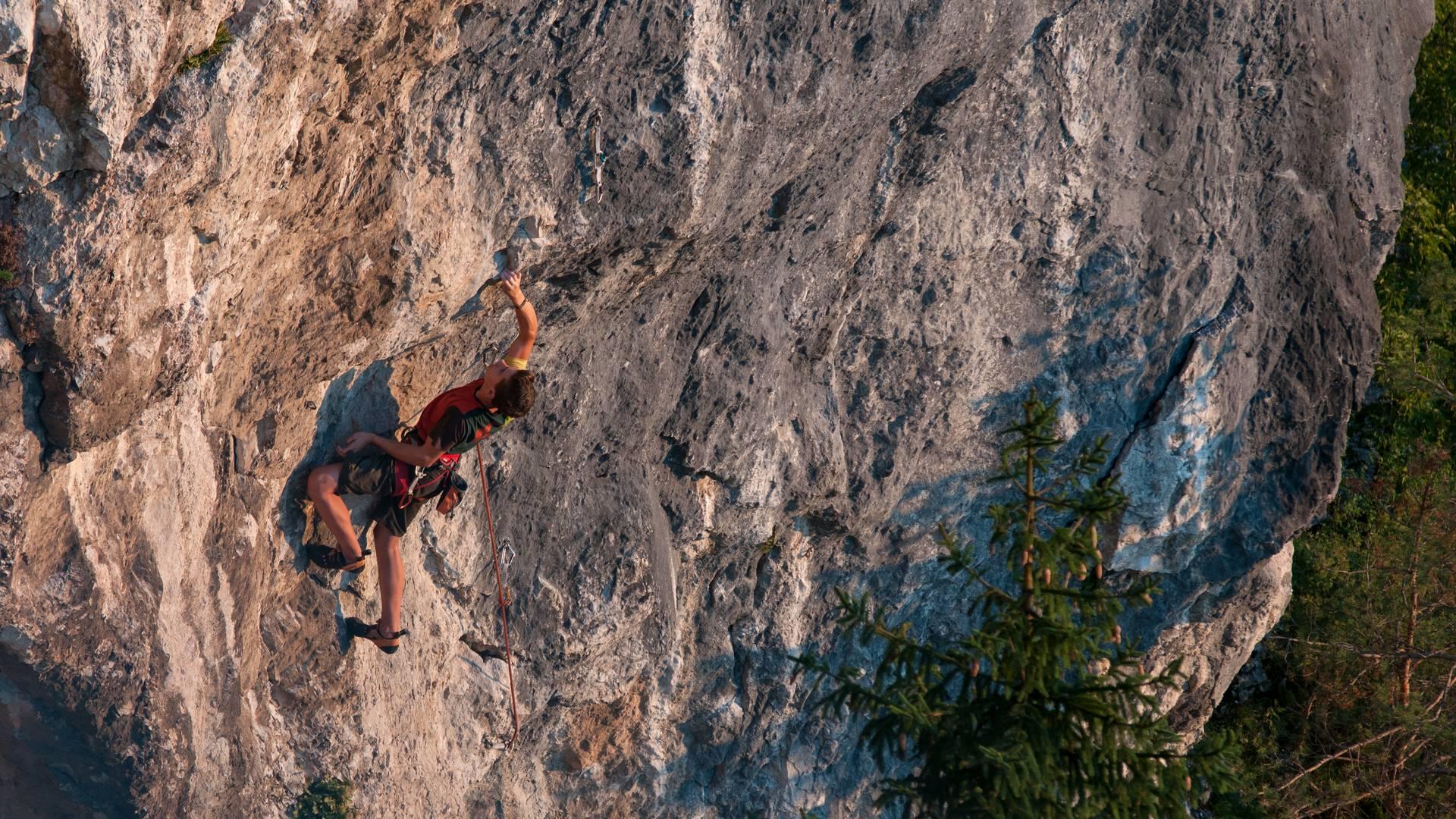 <p>Klettern in Kärnten, Kanzianiberg</p>