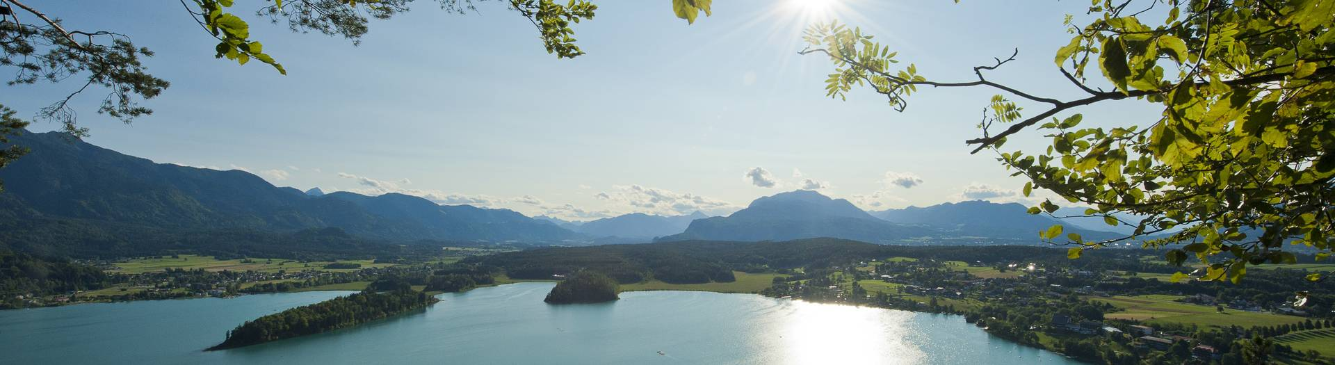 Blick auf den Alpe Adria Trail
