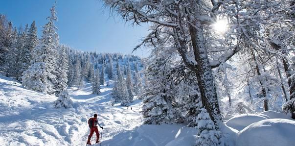 Skitourengenuss in Kärnten