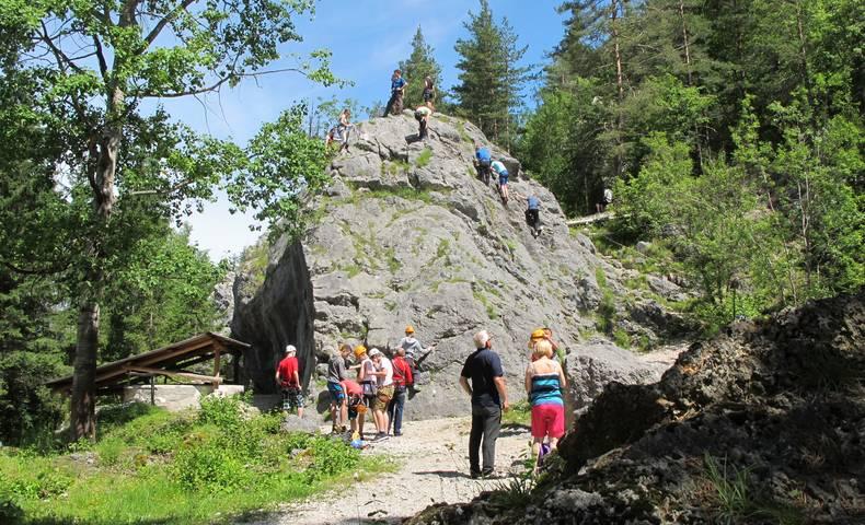Kletterparadies Kanzianiberg
