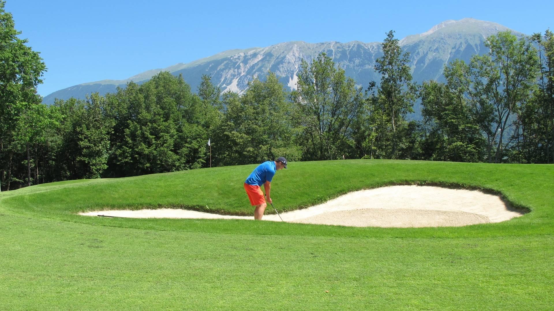 Golfen in drei Ländern, Royal Bled Golf Course in Slowenien