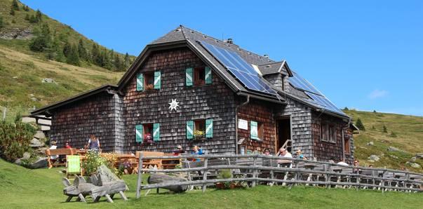 <p>Alpe Adria Trail Hütten, Millstätter Hütte</p>