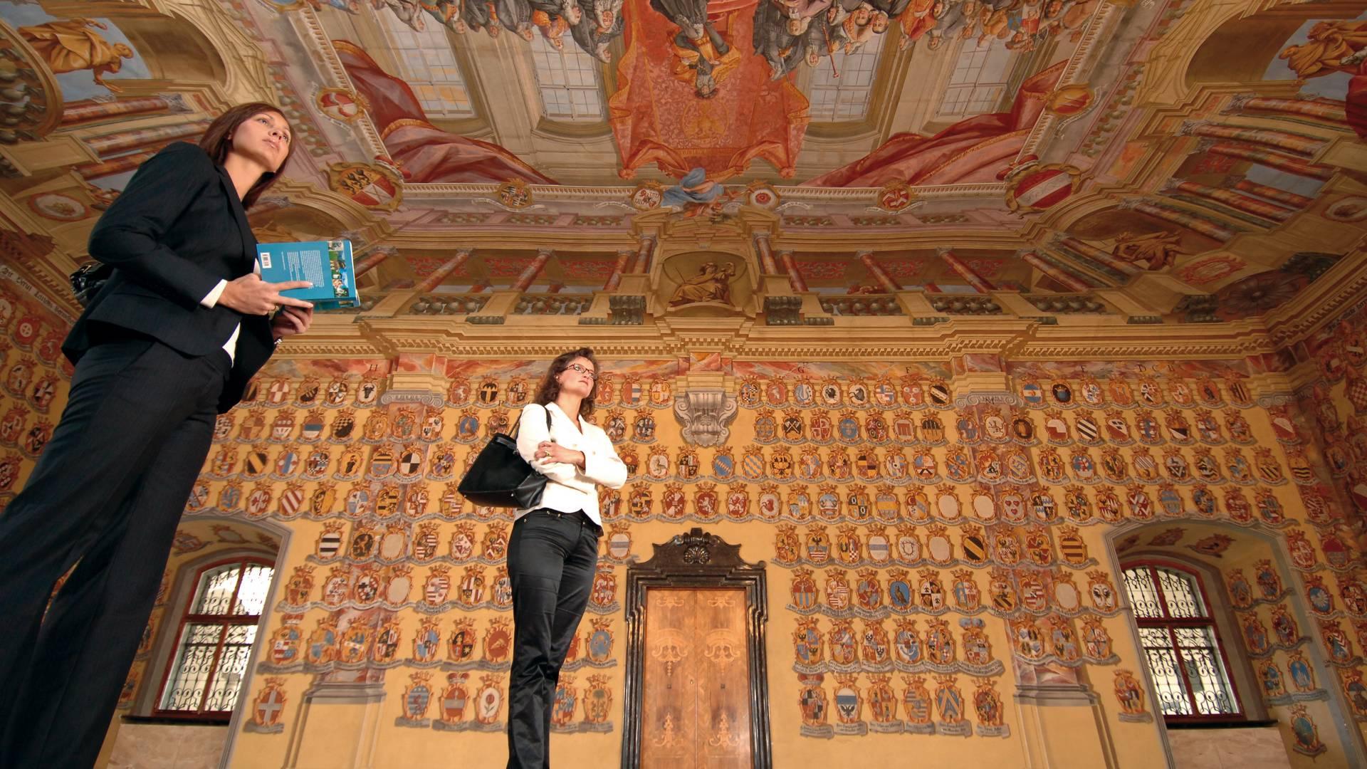 Wappensaal im Landhaus Klagenfurt