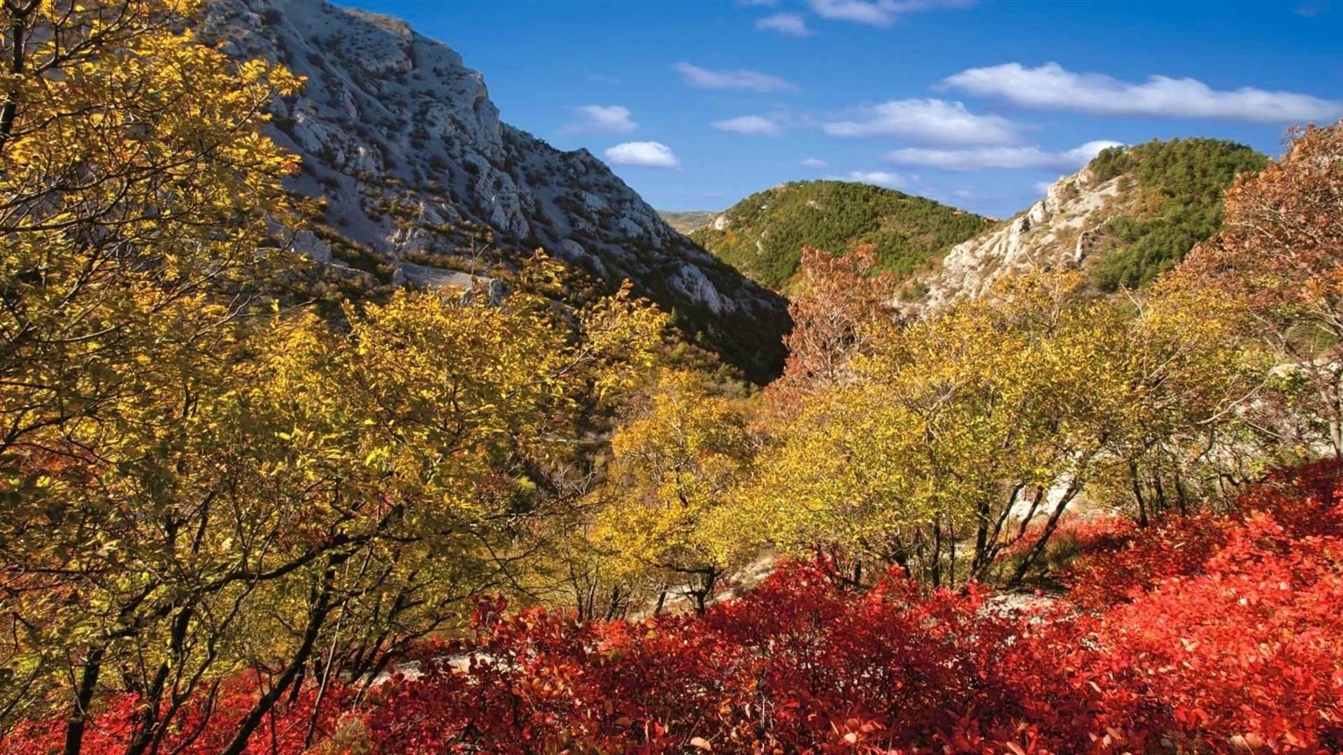 Val Rosandra. Einziger Taleinschnitt des Triestiner Karsts. Beeindruckt als Naturschutzgebiet mit zahlreichen Naturschönheiten und historischen Denkmälern.