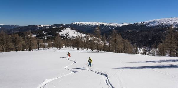 Skitouren in Kärnten, Nockberge-Trail, Katschberg