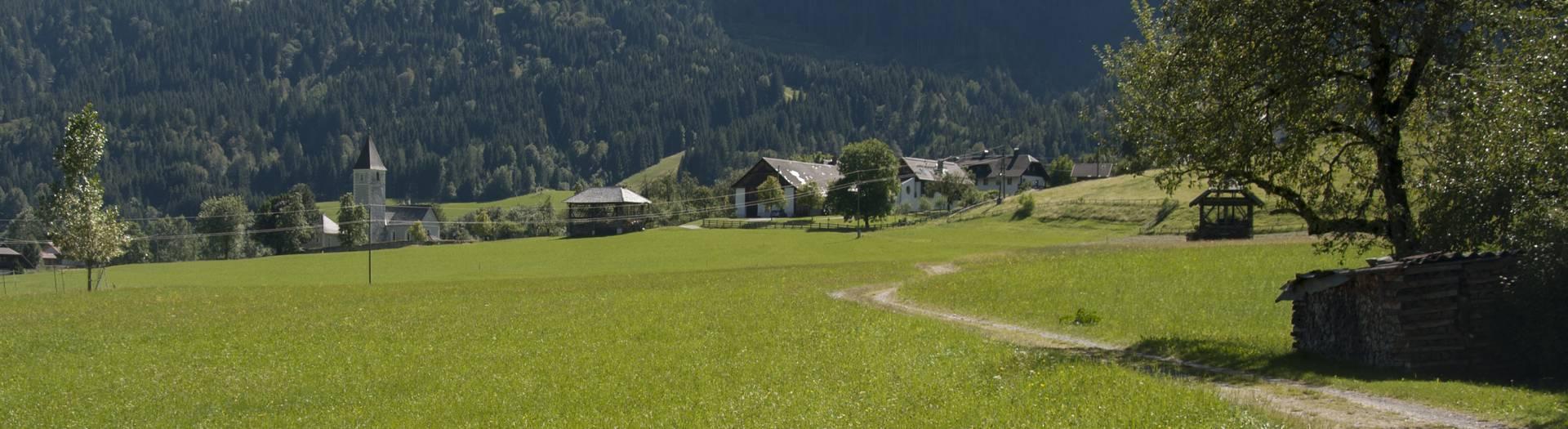 Naturlehrpfad Gösseringgraben im Gitschtal in der Naturarena Kärnten