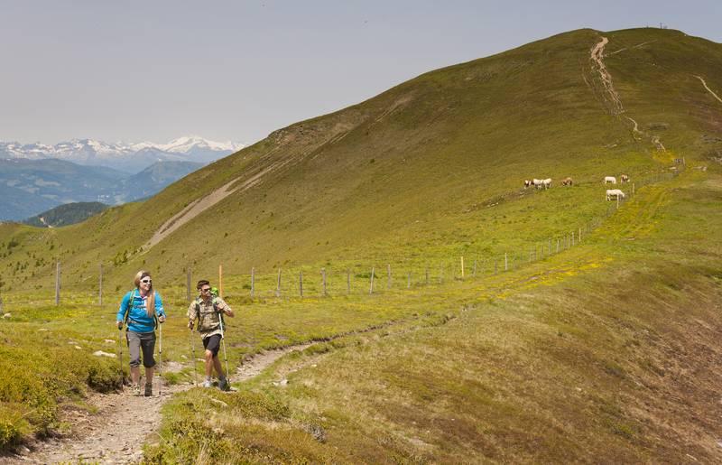 Alpe Adria Trail in den Nockbergen