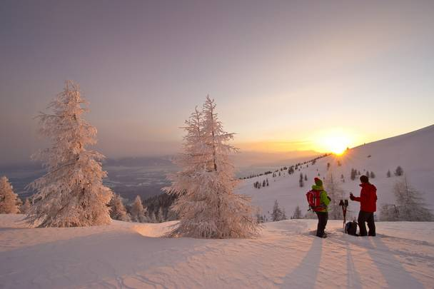 Schneeschuhwandern auf der Gerlitzen