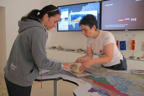 Geopark Karawanken Info-Zentrum mit Antonia Weißbacher
