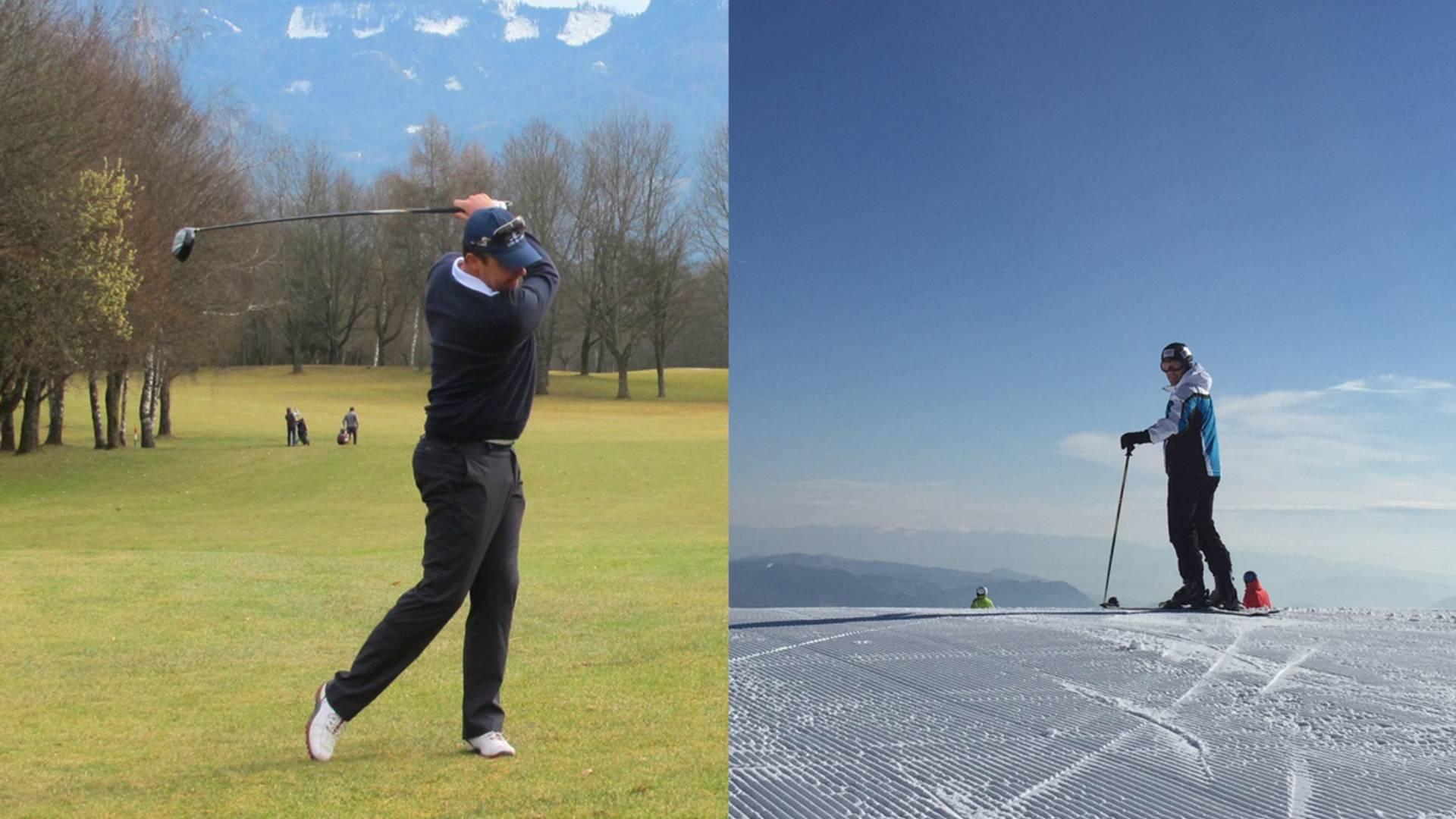 Ski und Golf, Gerlitzen und Golfpark Klopeiner See