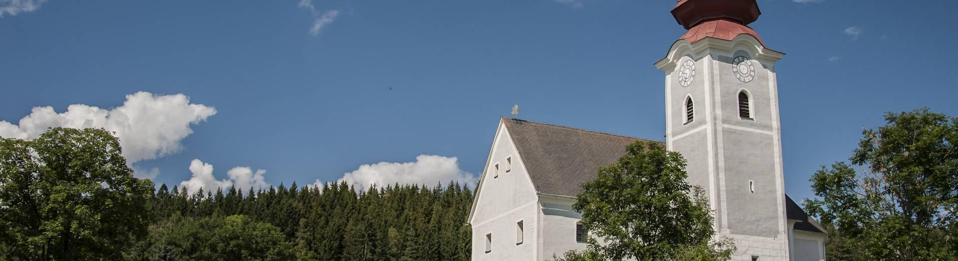 Pfarrkirche Gunzenberg in Mölblng