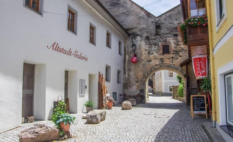 Künstlerstadt Gmünd, Gassen mit italienischem Flair