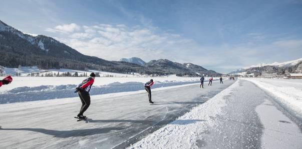 Eislaufen - Weissensee 11-Städte-Tour