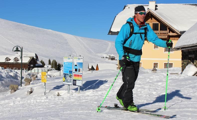 Skitouren-Lehrpfad am Falkert