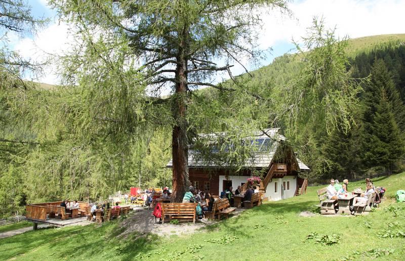 Alpe Adria Trail Hütten, Lärchenhütte