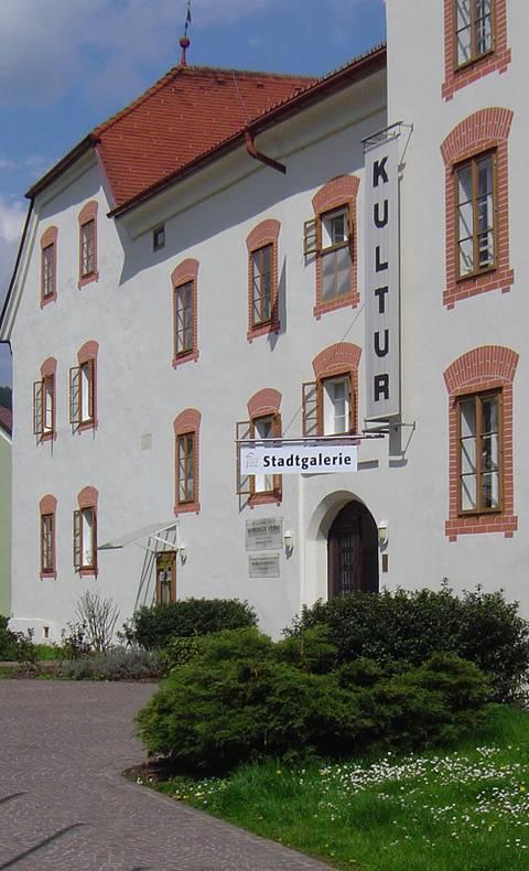 <p>Burgen und Schlösser in Kärnten, Amthof Feldkirchen</p>