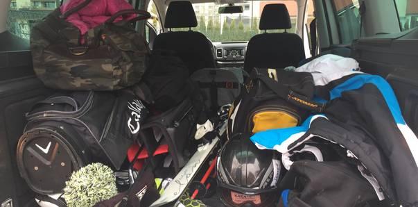 Ski und Golf, Ausrüstung für die Piste und den Golfplatz