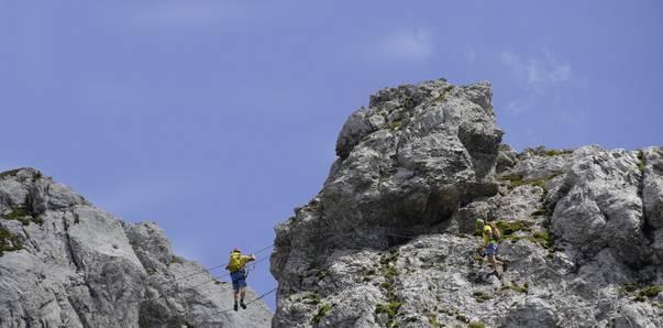 Däumling Klettersteig am Nassfeld