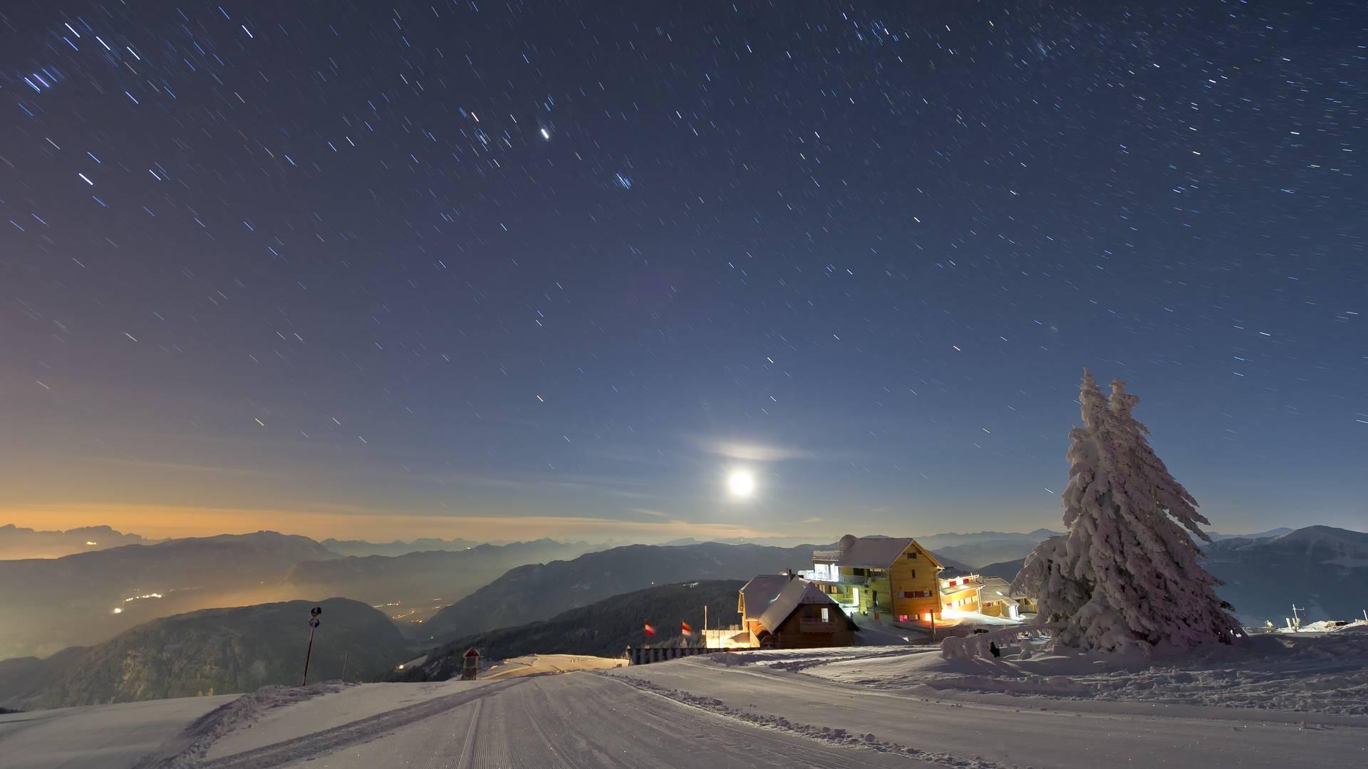 Gerlitzen by Night