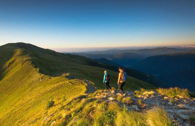 <p>Trails Angels Nockberge Trail, Turracher Höhe</p>