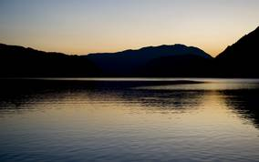 Landschaftsbild Ossiacher See