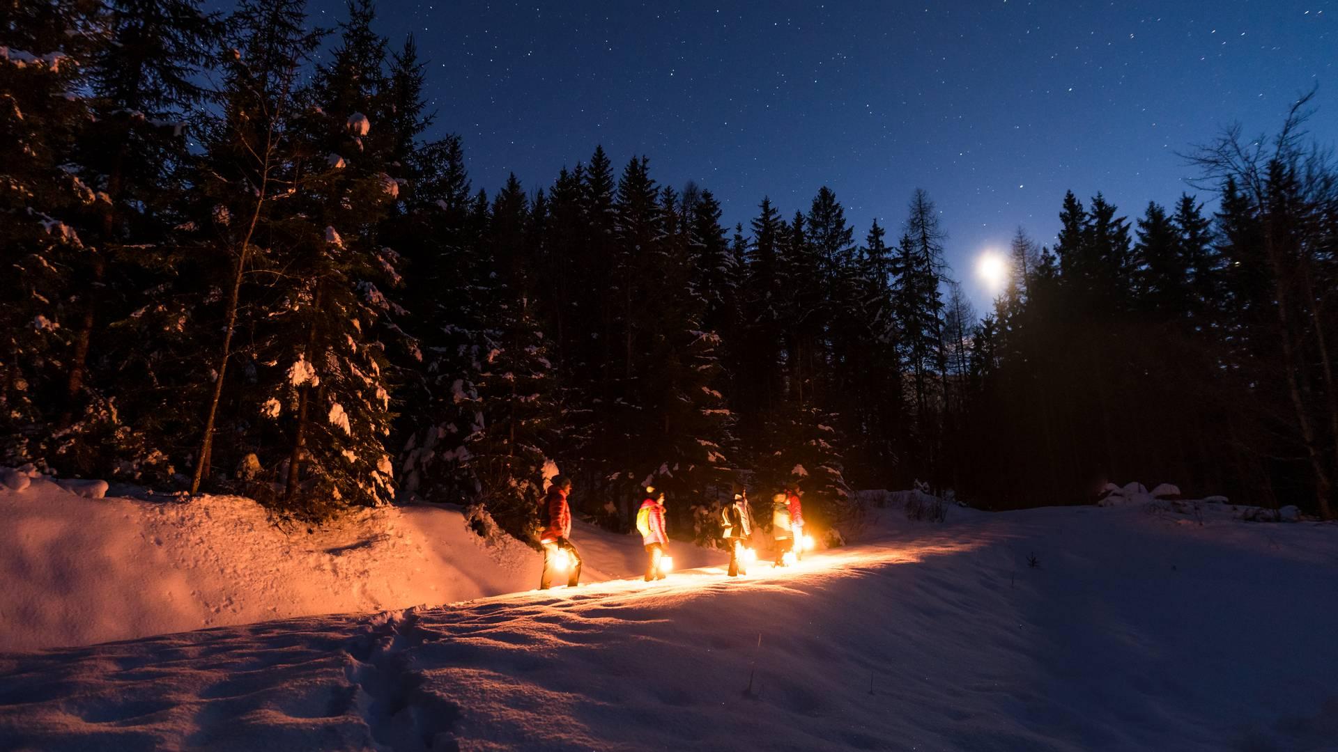 Magische Momente Winter Dobratsch