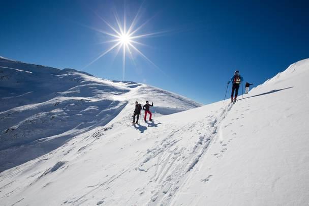 Skitour am Falkert