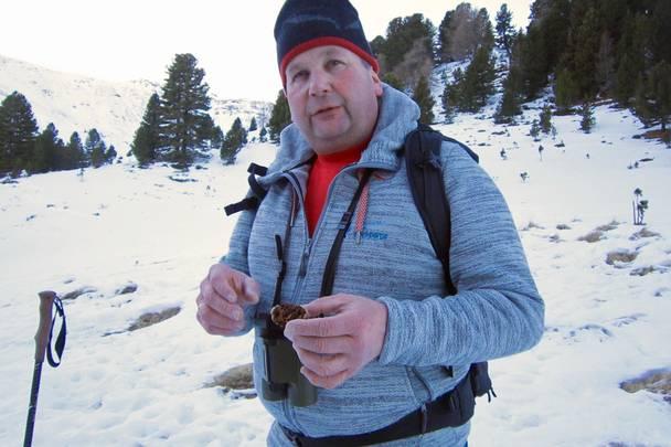 Ranger Heinz Mayer im Biosphärenpark Nockberge