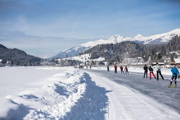 Eislaufen - Weissensee