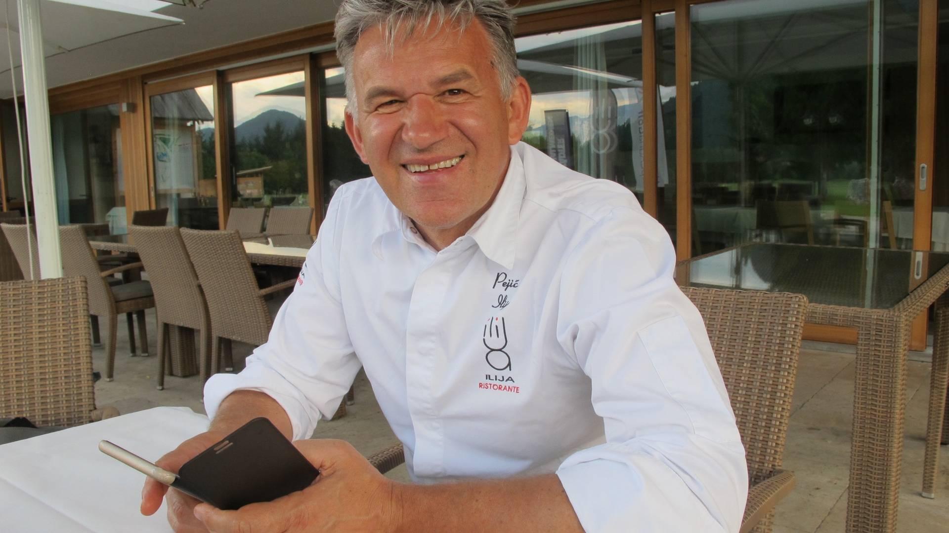 Golfen in drei Ländern, Ristorante Ilija Pejic in Tarvisio