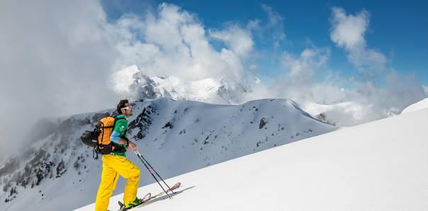 Skitourengenuss am Goldeck