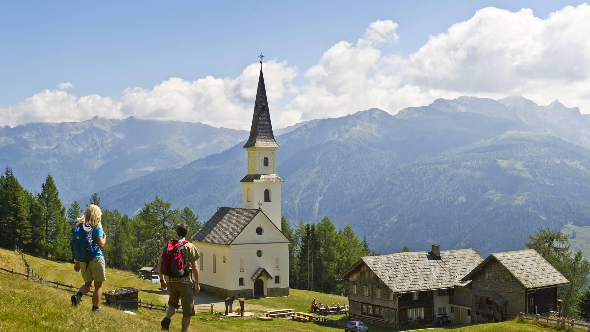 Wallfahrtskirche Marterle, höchstgelegene Wallfahrtskirche Österreichs auf 1.861 m Seehöhe