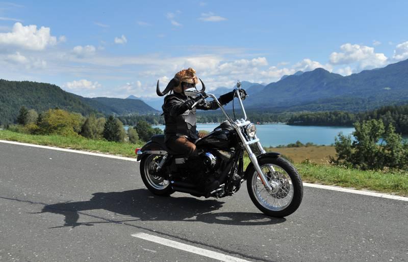 Harley am Faaker See