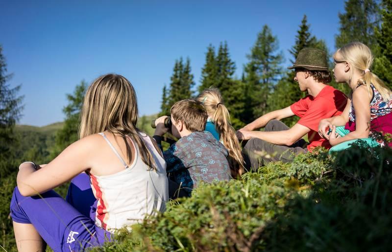 Jugend im Biosphärenpark Nockberge