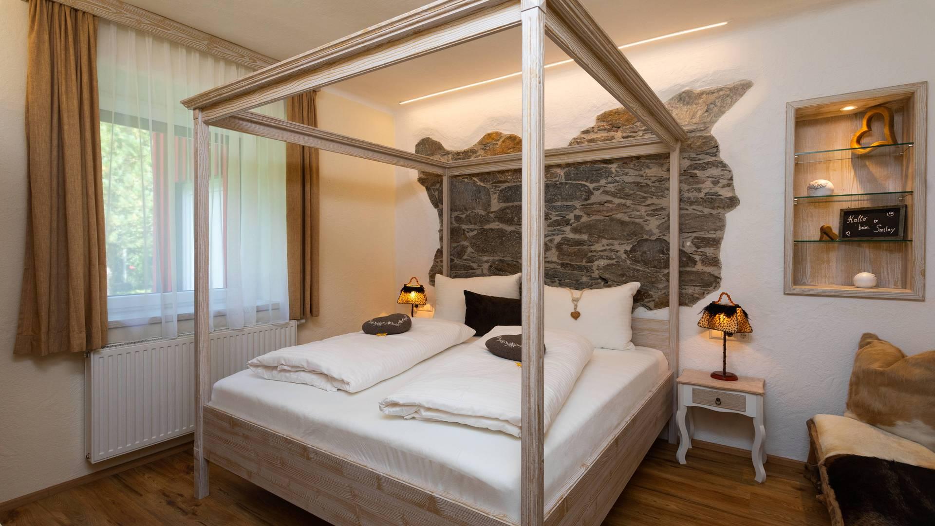 Smileyhotel in Trebesing Schlafbereich