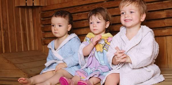 Kindersauna Wellnessurlaub