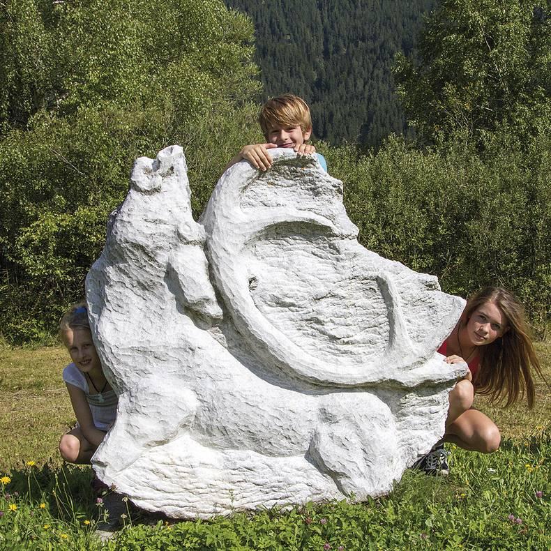 Wandern mit der Familie am Weissensee
