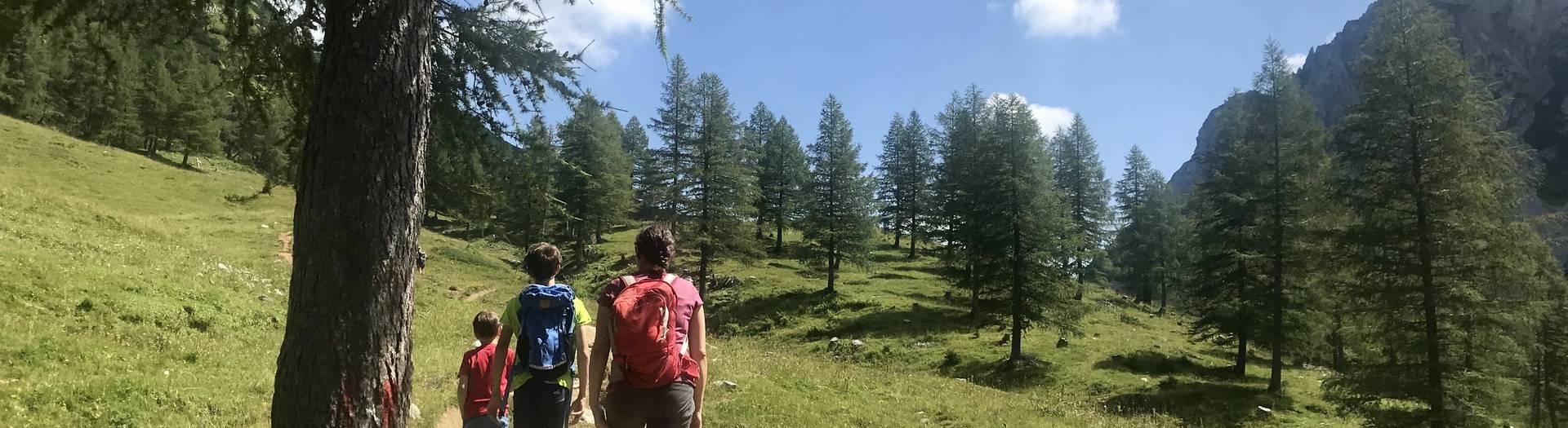 Wanderung zur Klagenfurter Huette